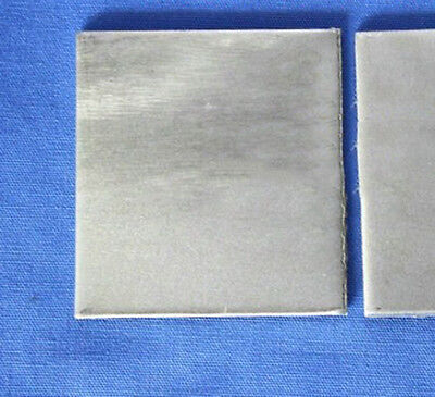 1pcs  Nickel Ni Anode Sheet Plate for Hull Cell 3mm x 70mm x 60mm #E0Z-i  GY