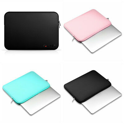 """Zipper Laptop Bag Protect Cover Sleeve Case Pouch For 11/13/15/15.6"""" Macbook-PC"""
