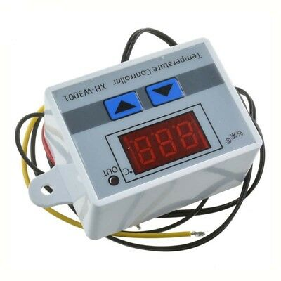 12-220V Digital LED Temperature Thermostat Controller Temperature Switch Probe