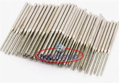 20 pieces 1MM Diamond tipped coated drill bit hole saw core drills marble
