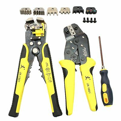 Paron JX-D4301 Wire Strippers Tool Set Ratchet Terminals Crimping Pliers 4 In 1