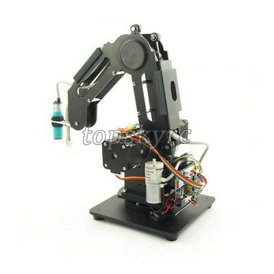 3 Axes Metal Robot Arm Robotic Claw Grab Mechanical Manipulator Toys Wireless