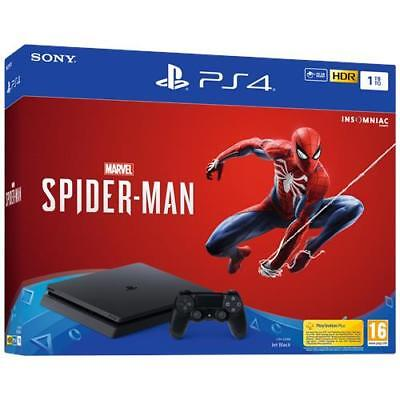 SONY Console Playstation 4 PS4 1 TB Chassis F Slim + Marvel's Spider-Man