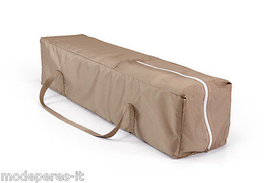 Cot box travel, camping packable easily with bag MADE IN EU