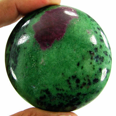 652.20 Ct Natural Ruby Zoisite Loose Gemstone Cabochon Stone - 19441