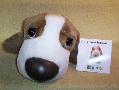 NWT Plush & Cute BASSET HOUND Artist Collection THE DOG 100% Polyester