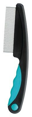 Flea & Dust Comb for Cats Dogs & Small Animals Grooms & Stimulates Small Pets