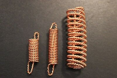 Sacred Cubit Tensor Acuvac Coil Set Of 3 1/4, 1/2 and 1.5 x Orgone Protection