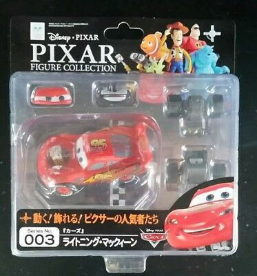 Kaiyodo Revoltech Disney Pixar Figure Collection 003 Cars Lightning McQueen