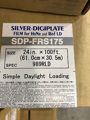 Mitsubishi Silver Digiplate Film SDP-FRS175 24in. x 100ft.