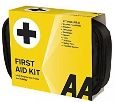 AA Soft Pouch First Aid Kit Car Home Holiday New