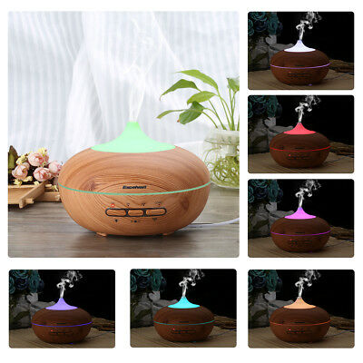 Essential Led Ultrasonic Aroma Aromatherapy Diffuser Air Purifier Humidifier