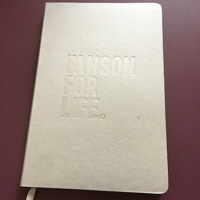 Hanson Brand New Silver Fanson For Life Journal