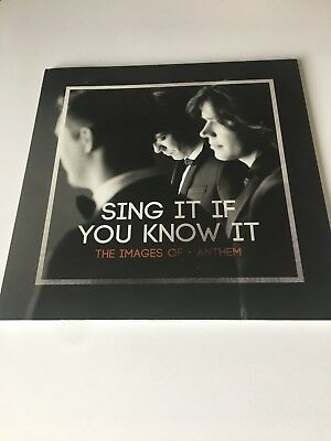 Hanson RARE Sing It If You Know It NEW Anthem Photo Book
