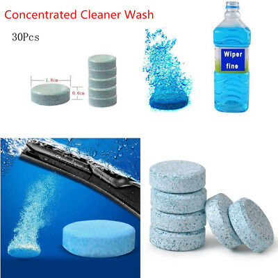 6pcs pack Windshield soap Glass Cleaner Wiper Car Window windshield wipers auto
