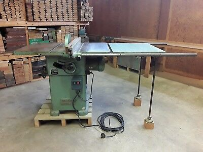 Wadkin Bursgreen 10 Ags Panel Table Saw 240V