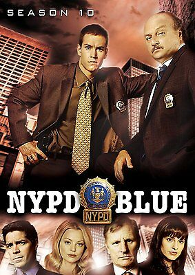 NYPD BLUE: Season Ten 10 (DVD, 2016, 5-Disc Set) NEW, Fast, First Class Shipping