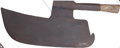 Early trade huge goose wing carpenter axe hatchet ?Left? handed? antique rare