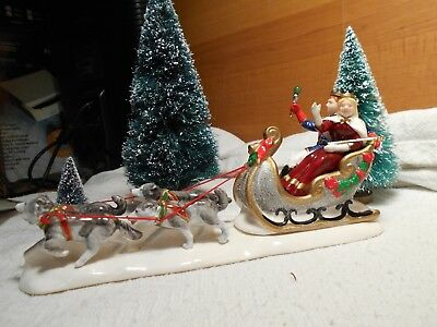 "Dept 56 Snow Village Accessory ""snow Carnival & Queen"" Item #54869"
