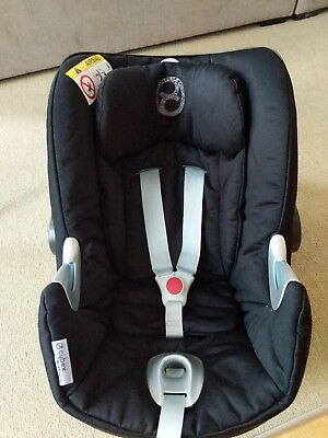 Mamas And Papas Cybex Aton Q Car Seat Compatible With Iso Fix Base