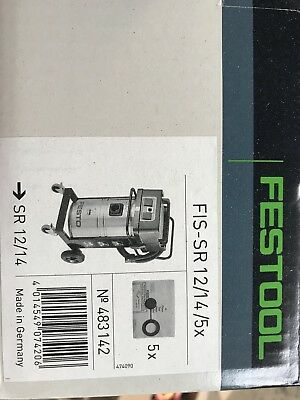 Festool FIS SR 12/145x Hoover / Extraction Bags Box Of 5 New