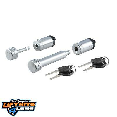 CURT 23526 Hitch & Coupler Lock Set ALL Non-Spec Vehicle ALL Base