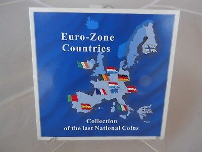 Euro-Zone Countries Collection Of The Last National 12 Coin Set *Free Shipping*