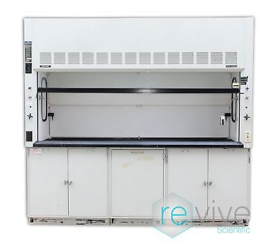 Fisher Hamilton SAFEAIRE 8' Fume Hood with Flammanble Cabinets