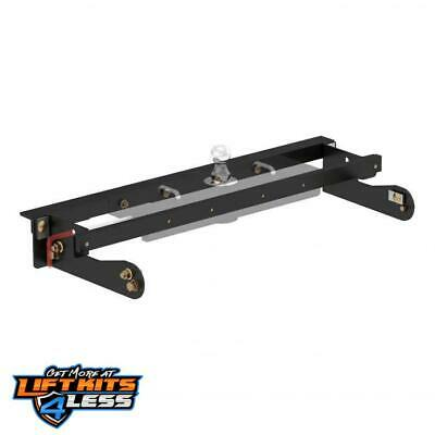 CURT 60624 Double Lock Ezr Gooseneck Installation Brckts for 2011-18 GM 2500 HD