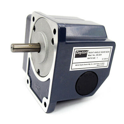 Continuous Speed Reducer - Right Angle Gear Box 90:1 Ratio 23L424