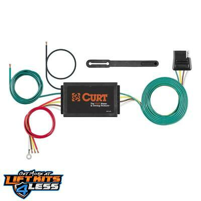 CURT 56146 Powered 3-To-2 Wire Taillight Converter for 1975-2018 Mazda RX8