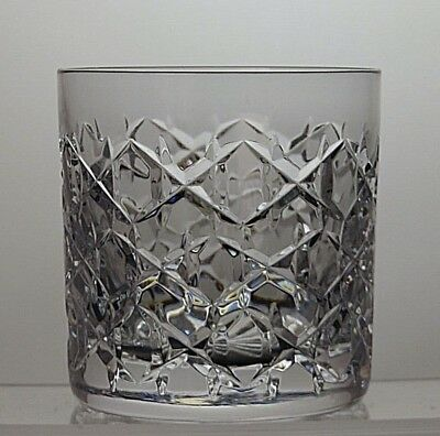 "Tiffany Crystal ""grenada"" Cut Glass Whisky Tumbler"