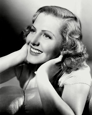 Jean Arthur With Hands On Neck 8x10 Quality Photo Print