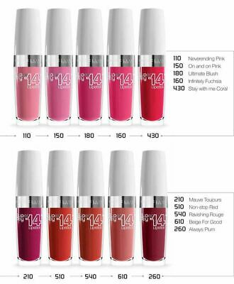 Maybelline Superstay 14HR Lipstick ~ Assorted Shades ~ New
