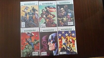 Ultimate Avengers 1 thru 6 Volumes 1, 2, 3, Millar Pacheco Yu Dillon (18 total)