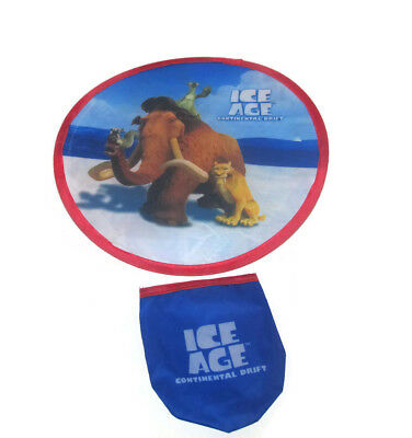 5 Ice Age Continental Drift Soft Collapsible Movie Promo Frisbee Toy