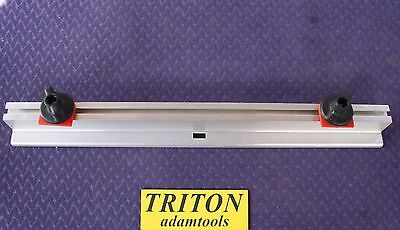 Triton 2000 table support rails (one only with two knobs)