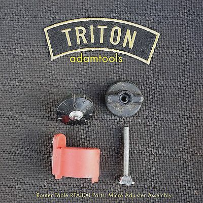 Triton router table RTA300 Parts - Micro Adjuster Assembly