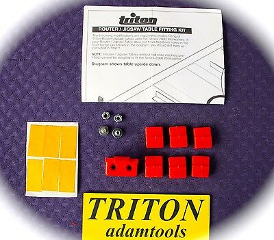 New - Triton Router/Jigsaw table fitting kit