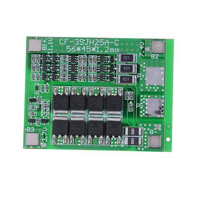 1pcs 3S 11.1V 12.6V 25A 18650 Li-ion Lithium Battery PCB Protection Board Nice