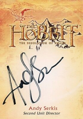 The Hobbit The Desolation Of Smaug, Andy Serkis 'Second unit Director Auto CA-4