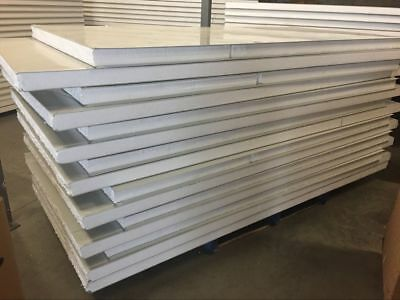 Insulated EPS Coolroom Wall panel/ Roof Panel  75mm ,1150mm Width /m2