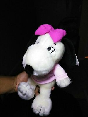 Peanuts Snoopy Belle Plush 10 inches new with tags