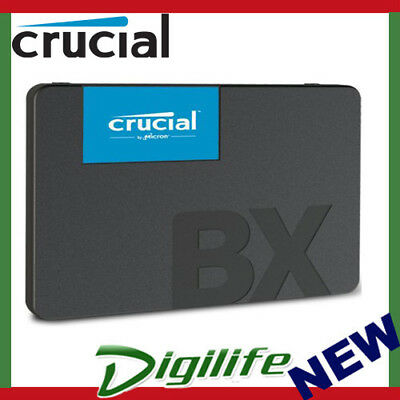 "Crucial BX500 240GB 2.5"" SATA SSD 3D NAND 540/500MB/s 7mm Acronis True Image"