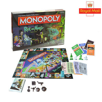 RICK AND MORTY Monopoly Sealed SAME DAY DISPATCH - £24 99