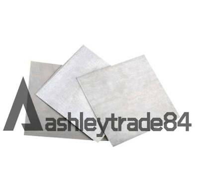 Magnesium Foil Small Sheet  2x100x100mm (very thick) 99.8%