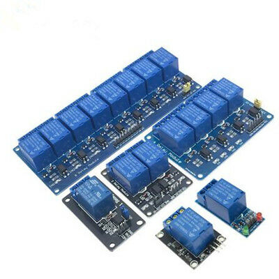 5V 1/2/4/8 Channel Relay Module Optocoupler LED Board for Arduino PiC ARM AVR