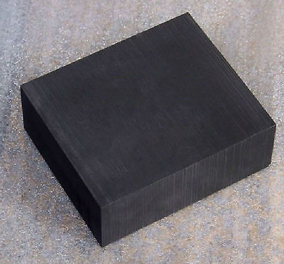 High  Purity 99.9% Graphite Ingot Block Sheet 50mm * 50mm * 20mm #EV-1