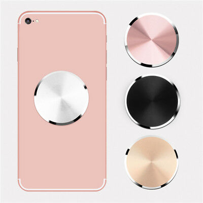 Metal Plate Adhesive Sticker Replace For Magnetic Car Mount Phone Holder h8O3