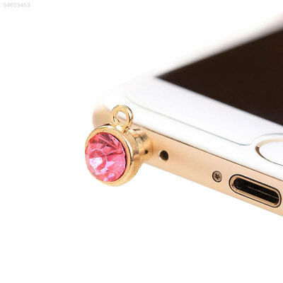 2CA1 New Single Diamond Dustproof Mobile Phone Dust Plug Sweet Girls Fashion